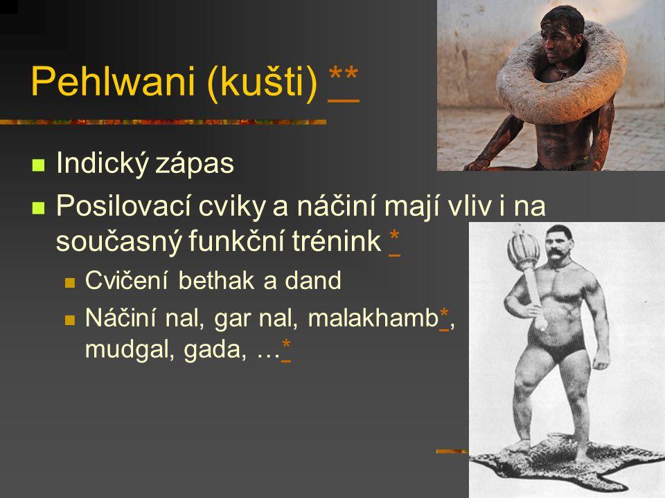Pehlwani (kušti) ** Indický zápas