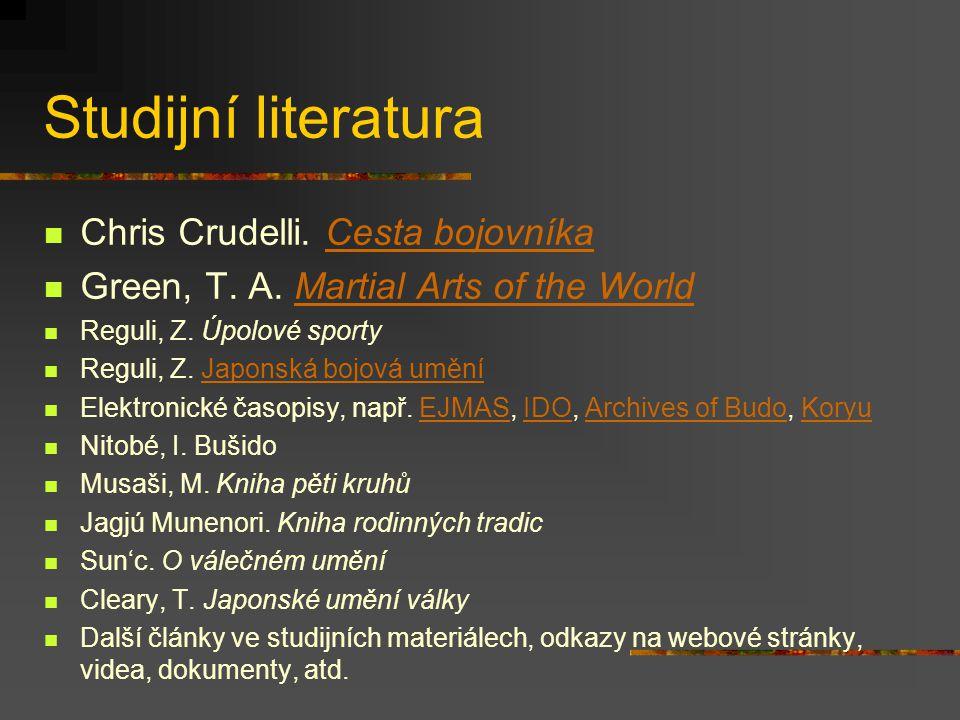 Studijní literatura Chris Crudelli. Cesta bojovníka