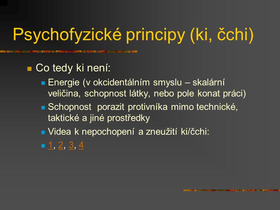 Psychofyzické principy (ki, čchi)