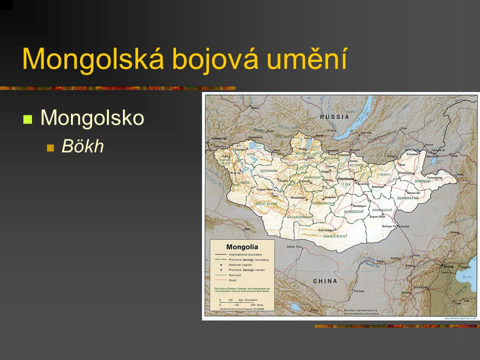 Mongolská bojová umění