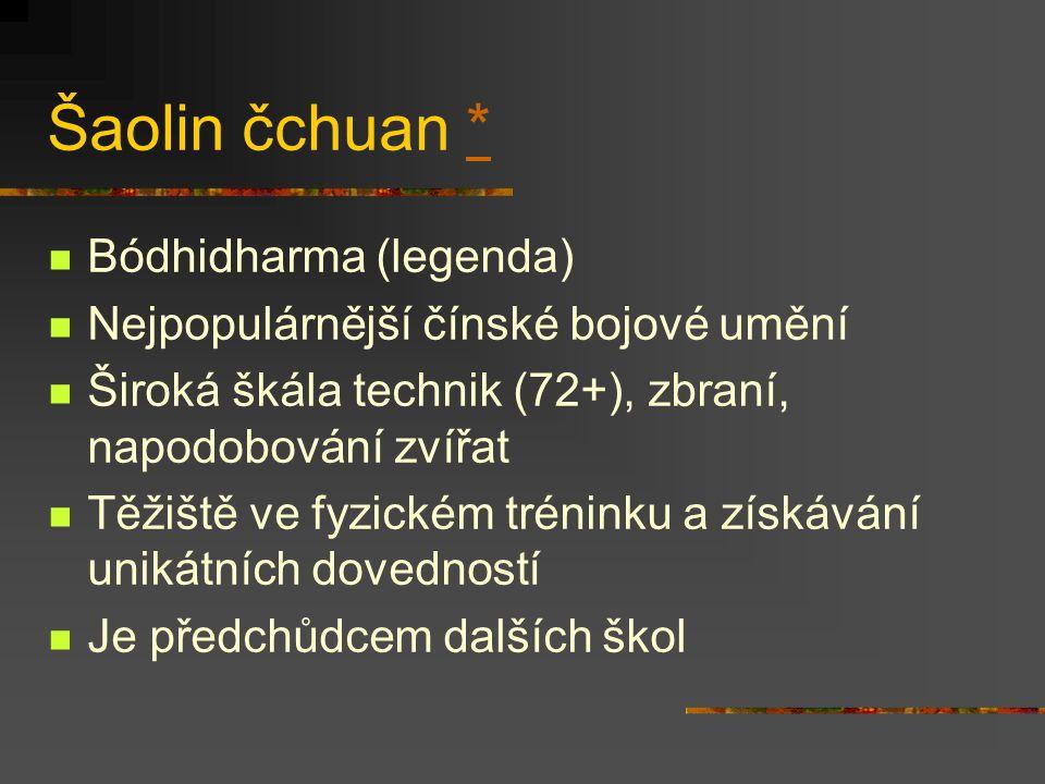 Šaolin čchuan * Bódhidharma (legenda)