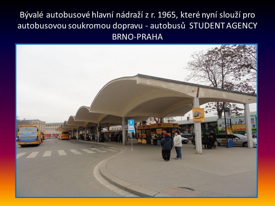 Bývalé autobusové hlavní nádraží z r