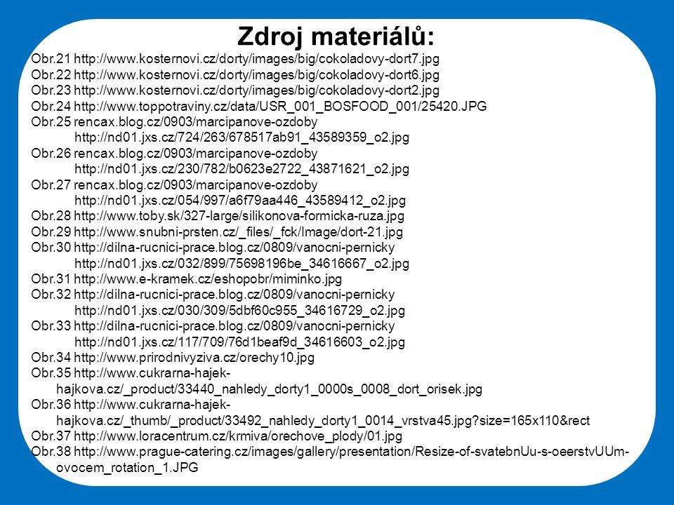 Zdroj materiálů: Obr.21 http://www.kosternovi.cz/dorty/images/big/cokoladovy-dort7.jpg.