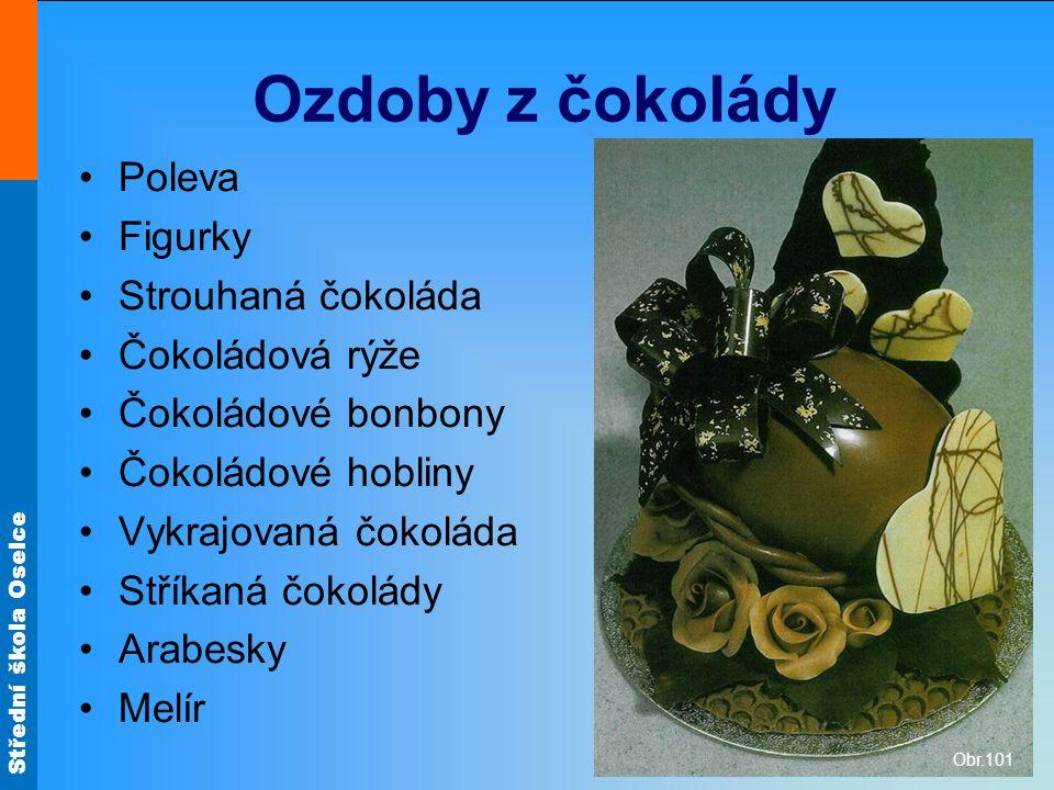 Ozdoby z čokolády Poleva Figurky Strouhaná čokoláda Čokoládová rýže