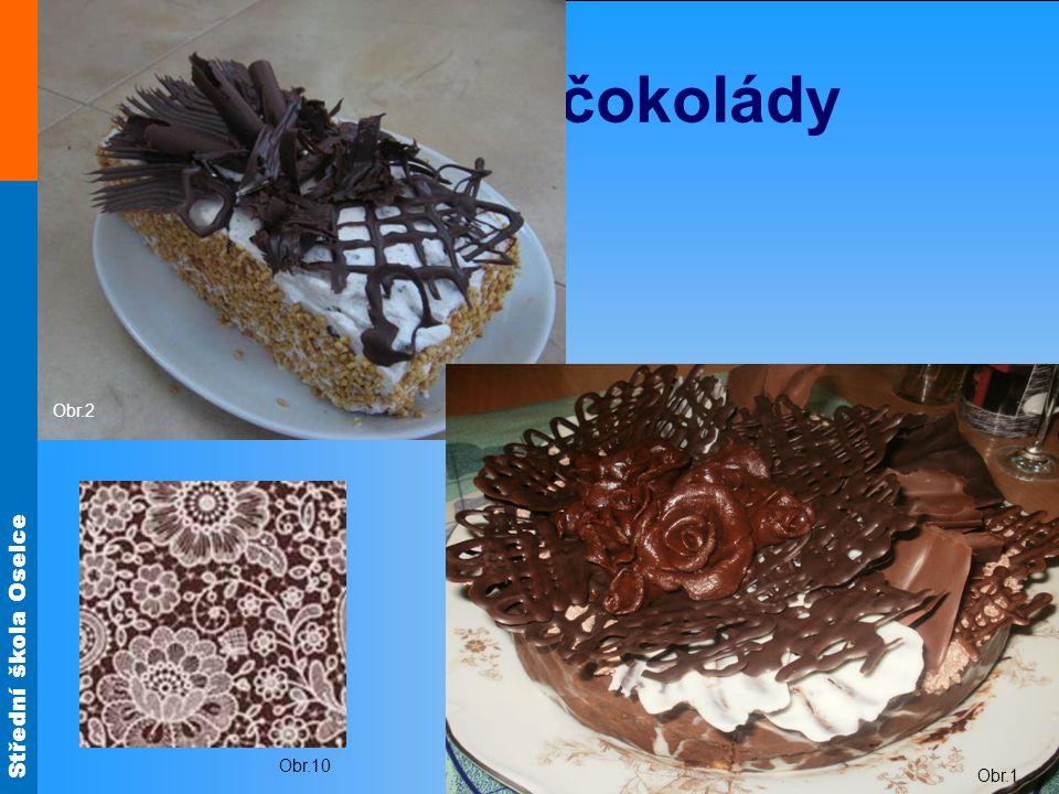 Obr.2 Ozdoby z čokolády Obr.1 Obr.10
