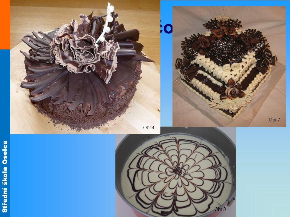 Obr.4 Obr.7 Ozdoby z čokolády Obr.3