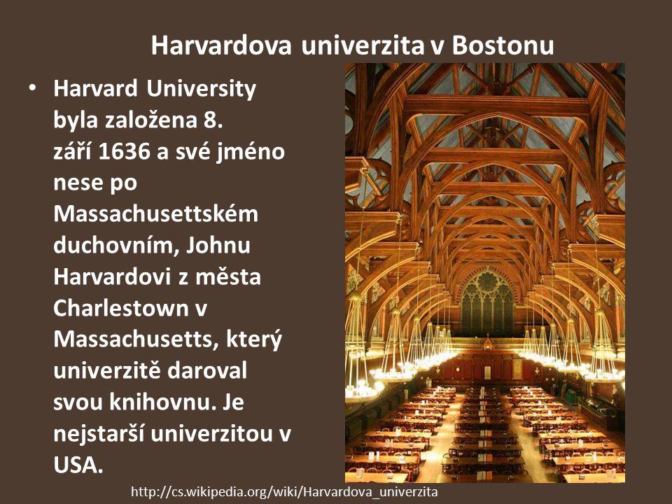 Harvardova univerzita v Bostonu