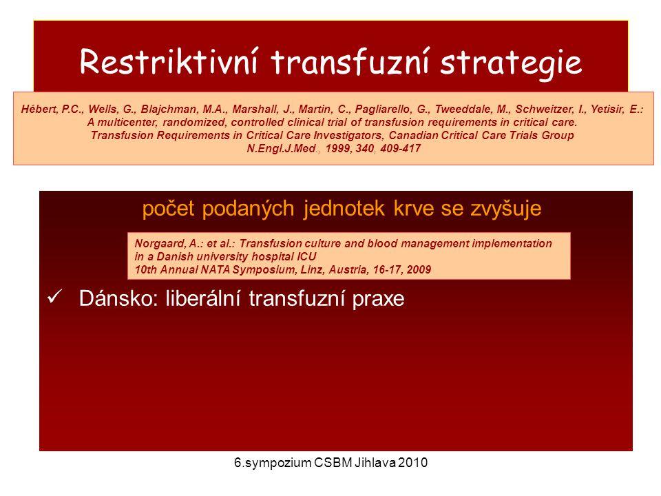 Restriktivní transfuzní strategie