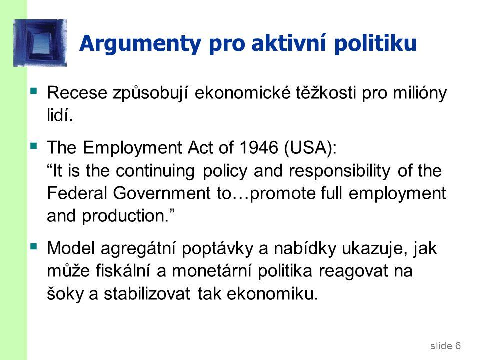 Argumenty proti aktivní politice