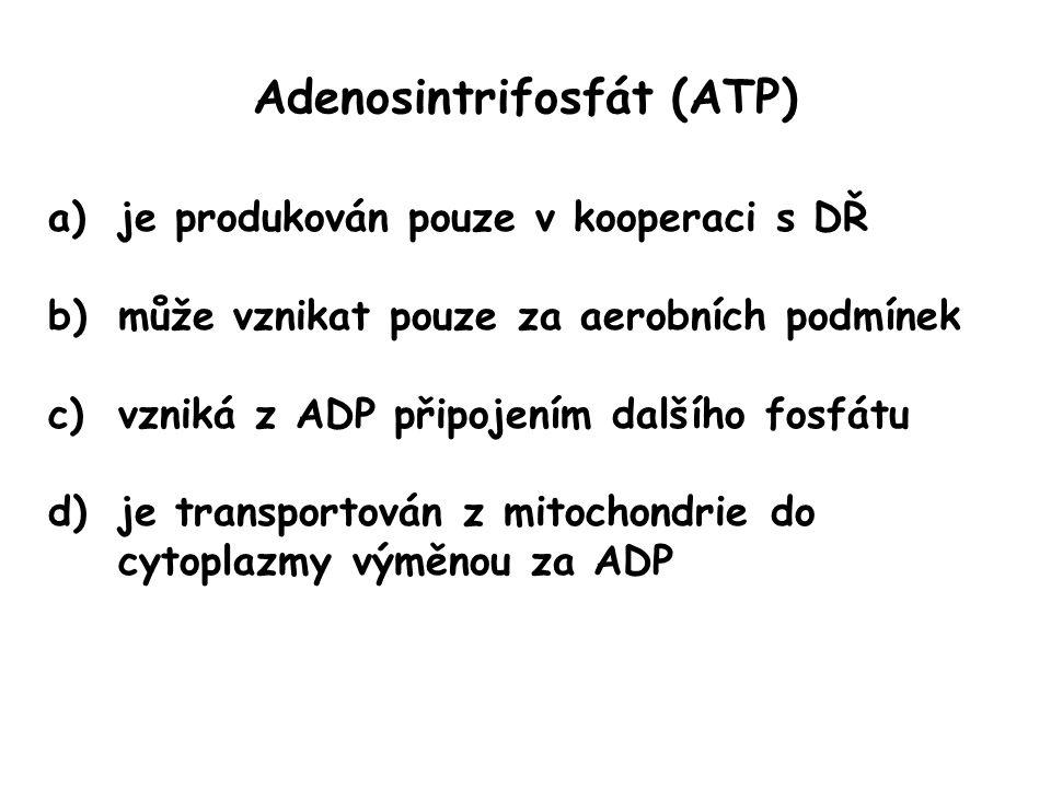 Adenosintrifosfát (ATP)