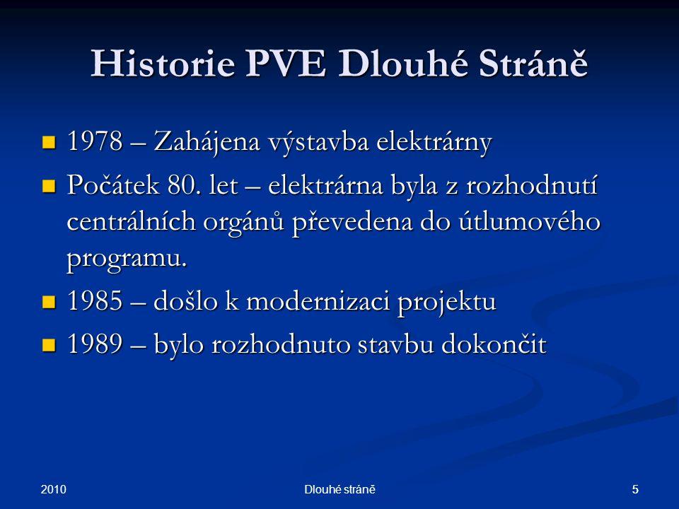 Historie PVE Dlouhé Stráně