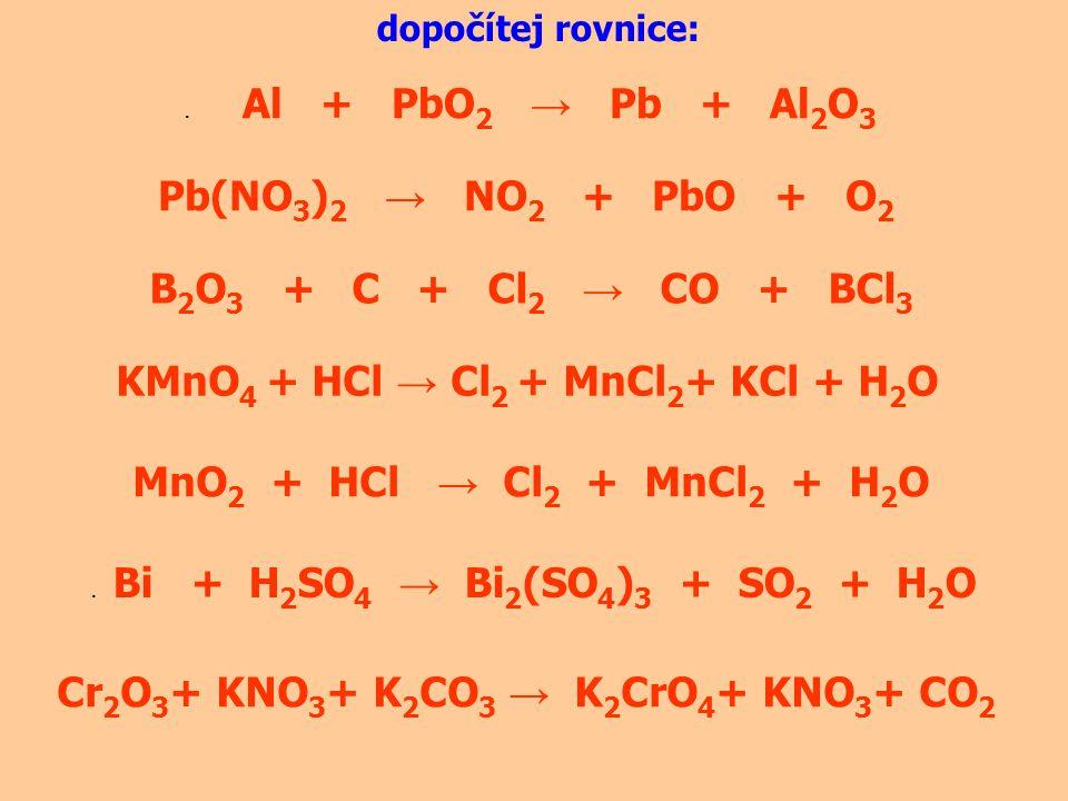 KMnO4 + HCl → Cl2 + MnCl2+ KCl + H2O
