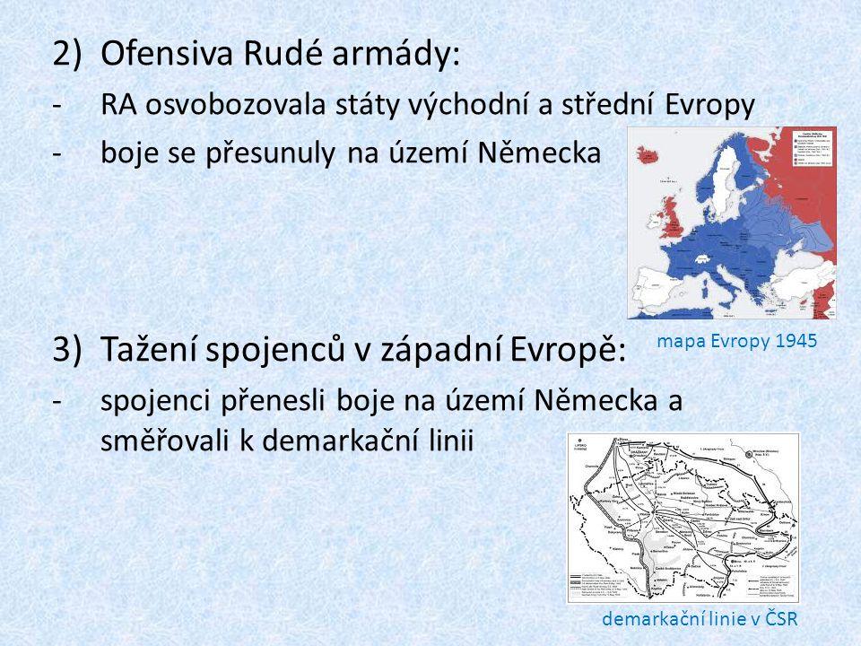 Tažení spojenců v západní Evropě: