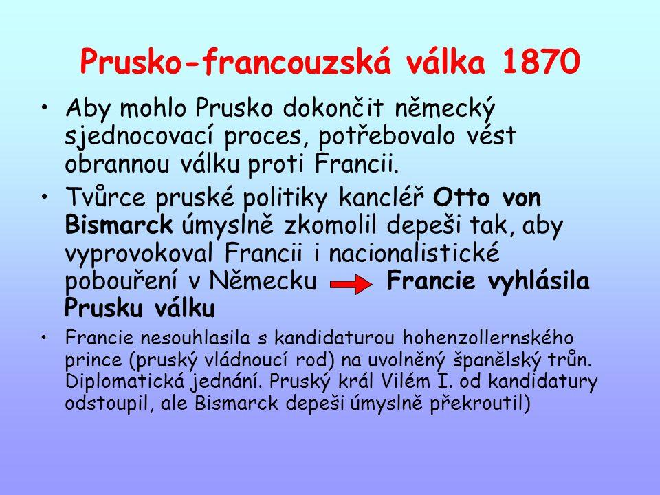 Prusko-francouzská válka 1870