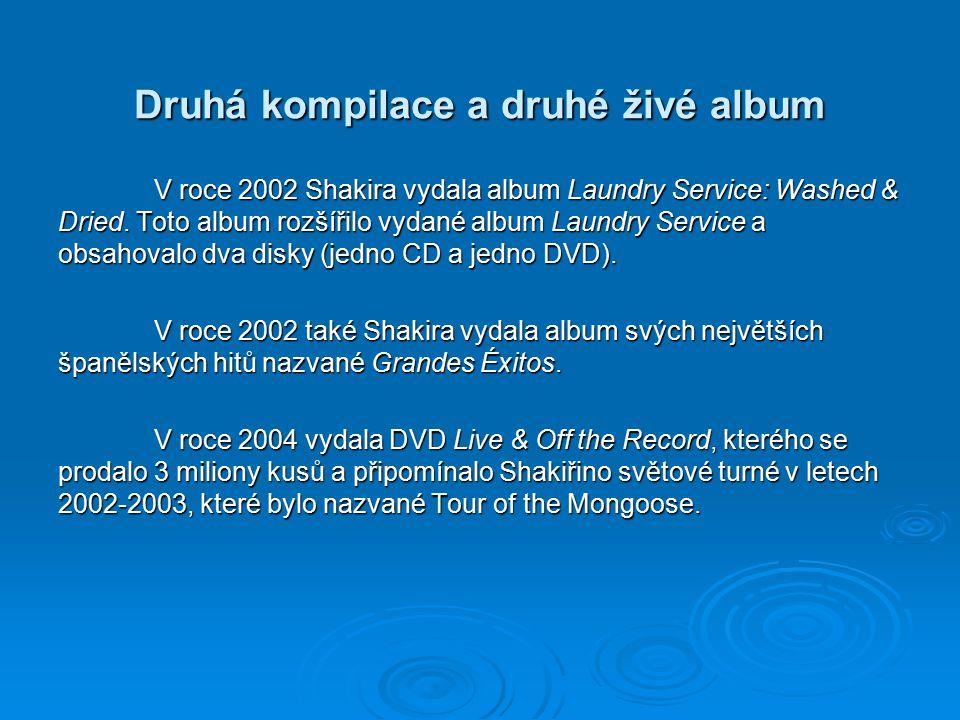 Druhá kompilace a druhé živé album
