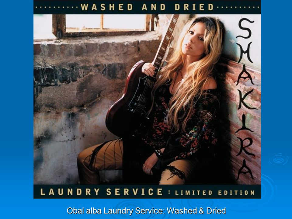 Obal alba Laundry Service: Washed & Dried