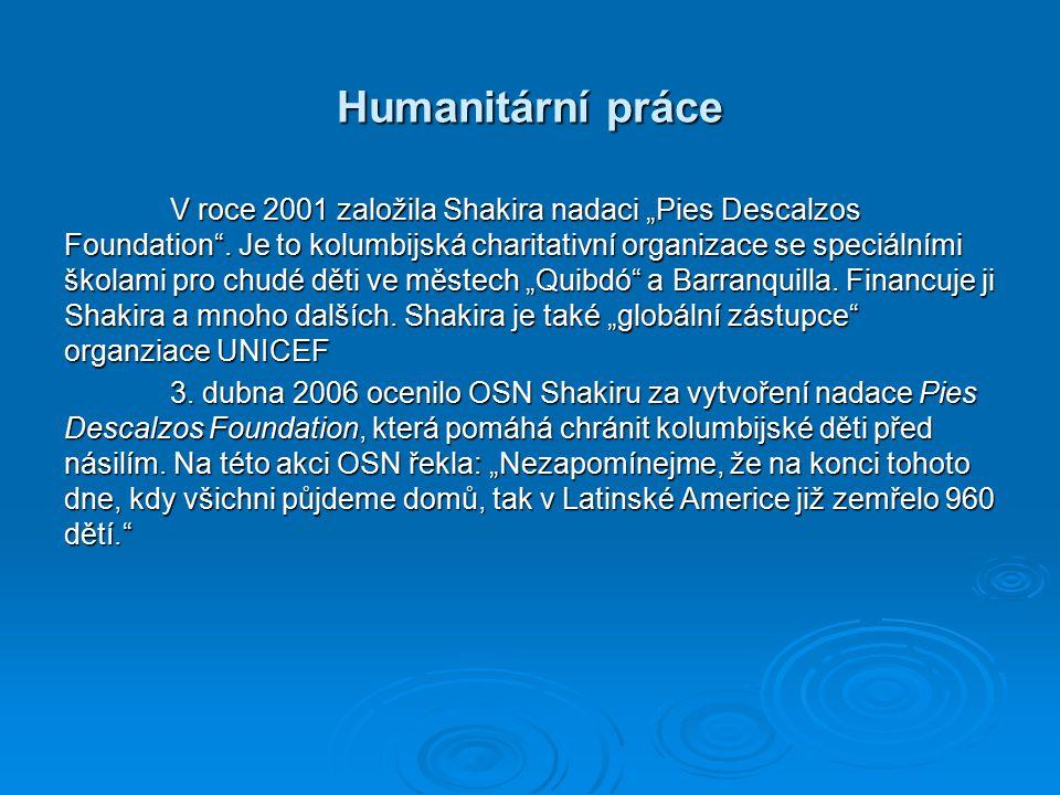 Humanitární práce