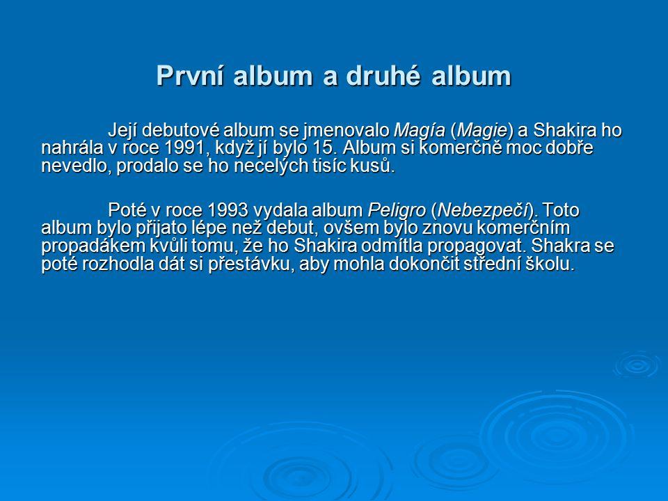 První album a druhé album
