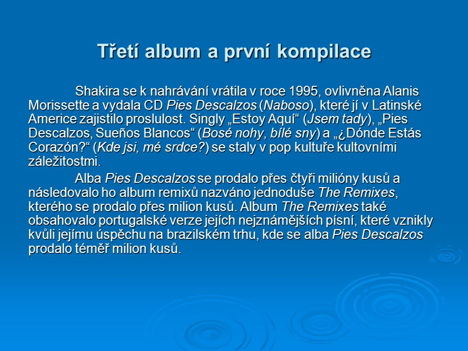Třetí album a první kompilace