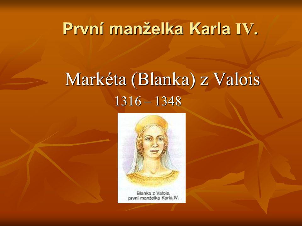 První manželka Karla IV.