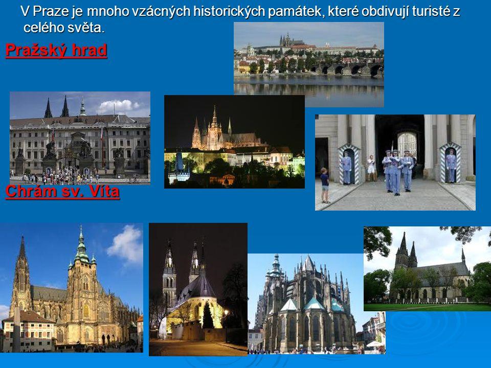 Pražský hrad Chrám sv. Víta