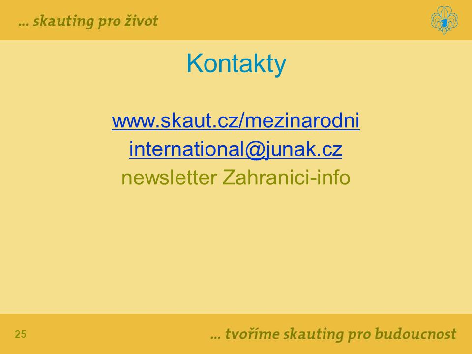 newsletter Zahranici-info