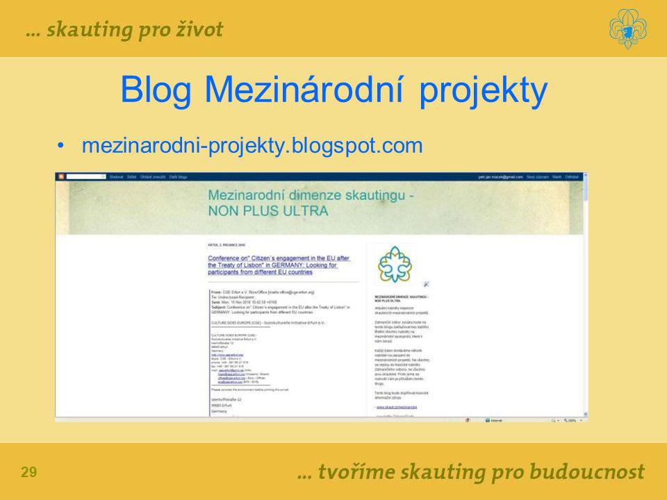 Blog Mezinárodní projekty