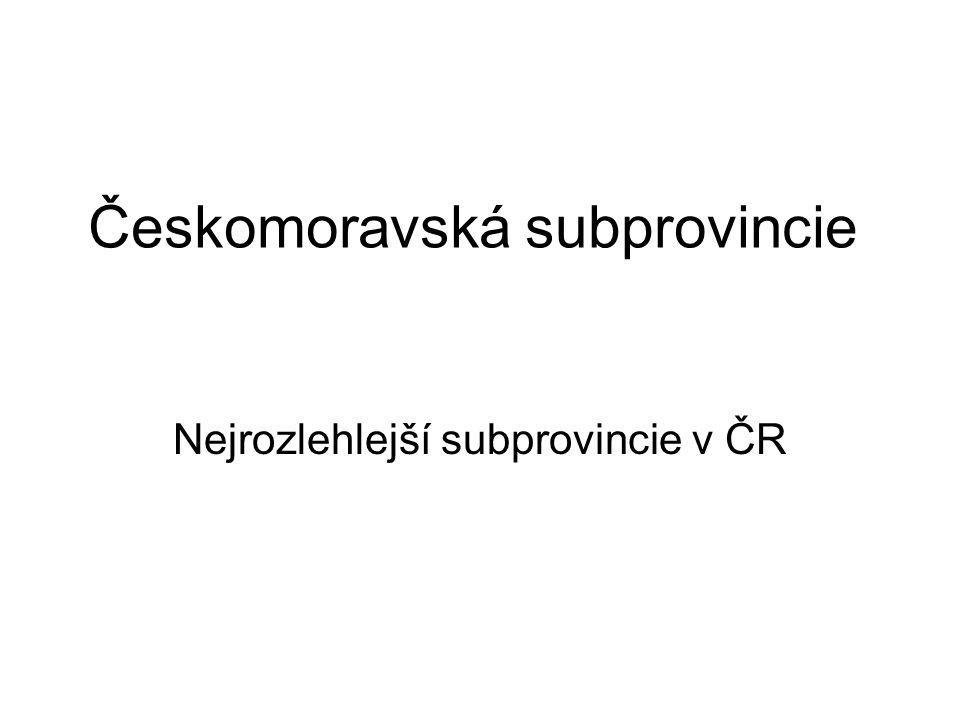 Českomoravská subprovincie