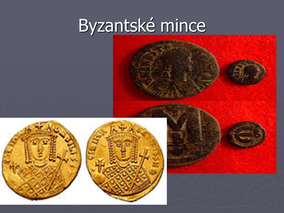 Byzantské mince