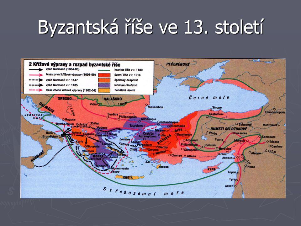Byzantská říše ve 13. století