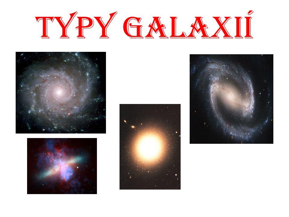 Typy Galaxií