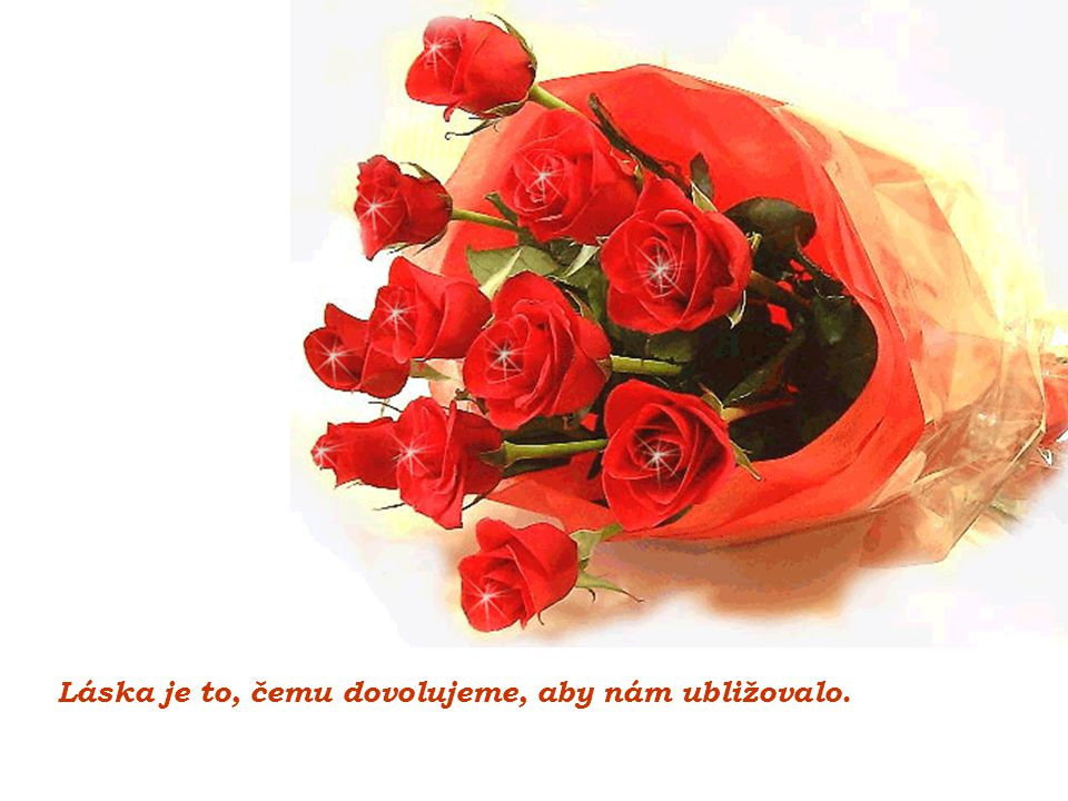 Láska je to, čemu dovolujeme, aby nám ubližovalo.