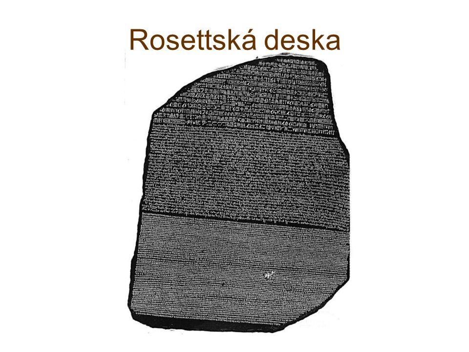 Rosettská deska