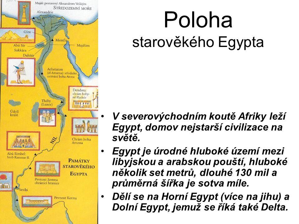 Poloha starověkého Egypta