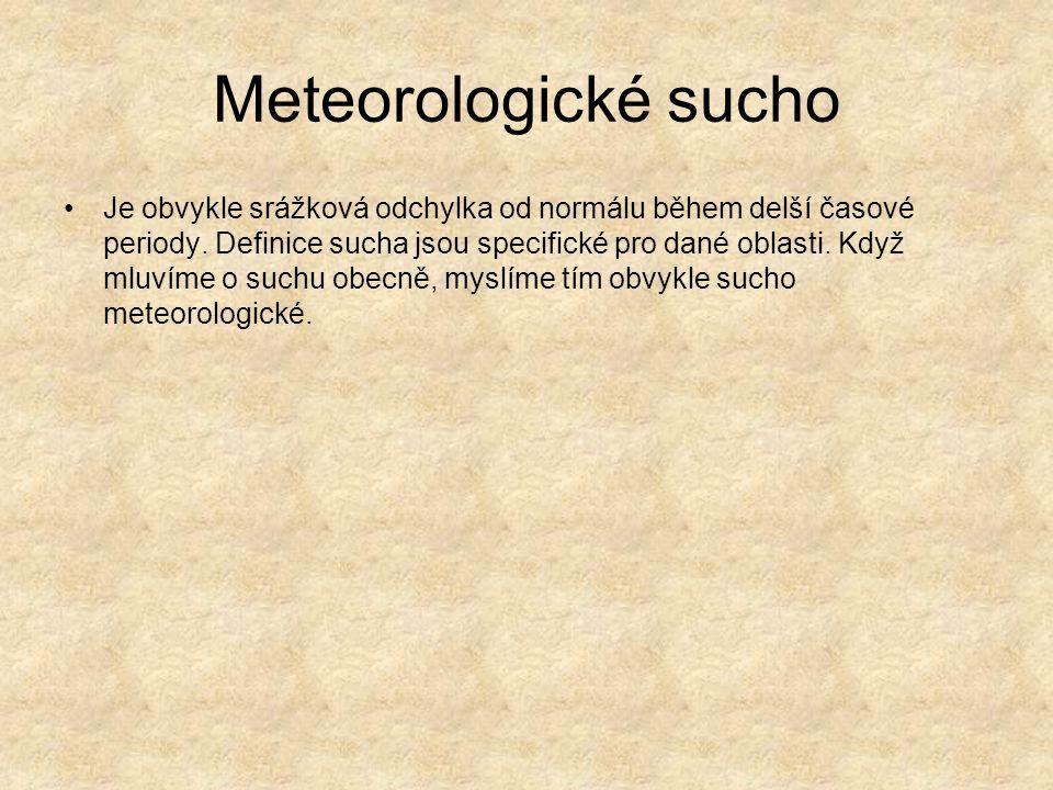 Meteorologické sucho