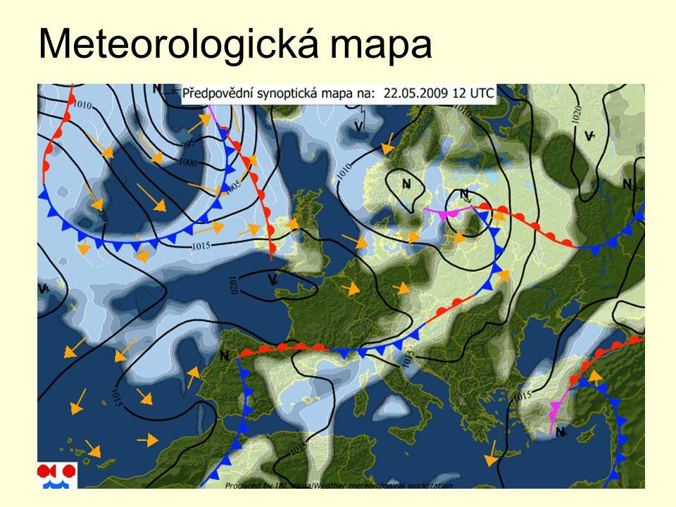 Meteorologická mapa