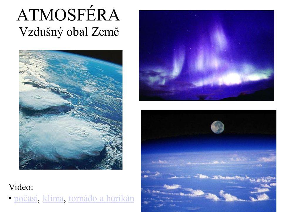 ATMOSFÉRA Vzdušný obal Země Video: počasí, klima, tornádo a hurikán
