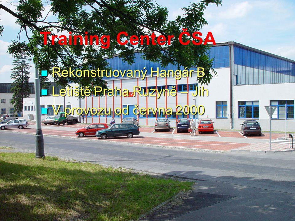 Training Center ČSA Rekonstruovaný Hangár B Letiště Praha Ruzyně – Jih
