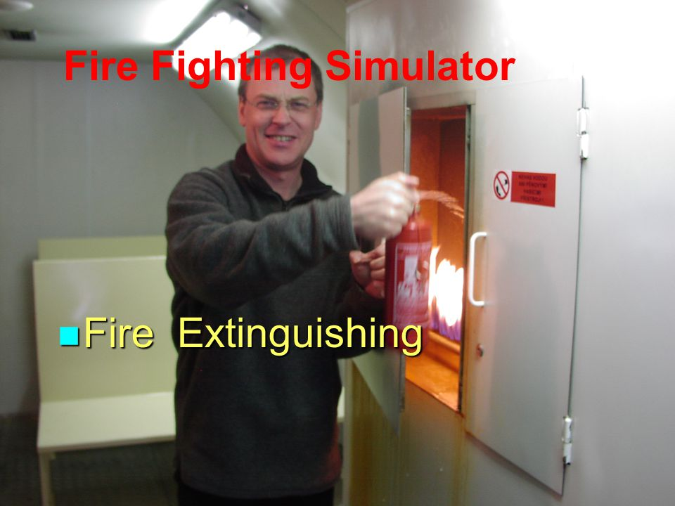 Fire Fighting Simulator