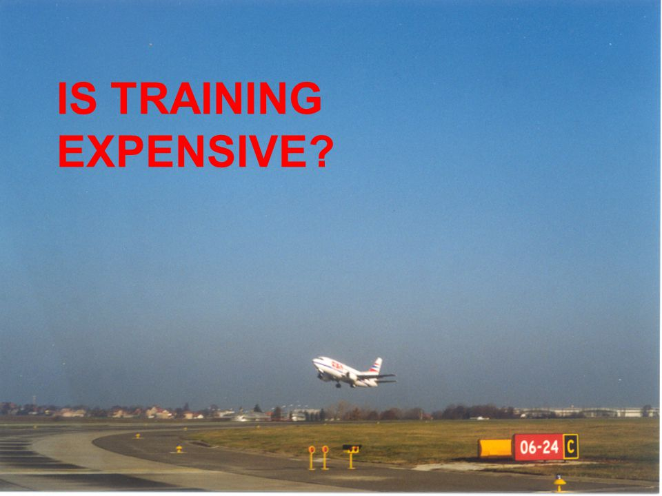 IS TRAINING EXPENSIVE