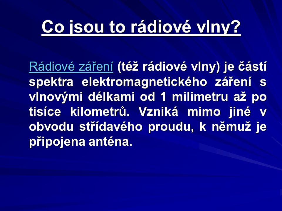Co jsou to rádiové vlny