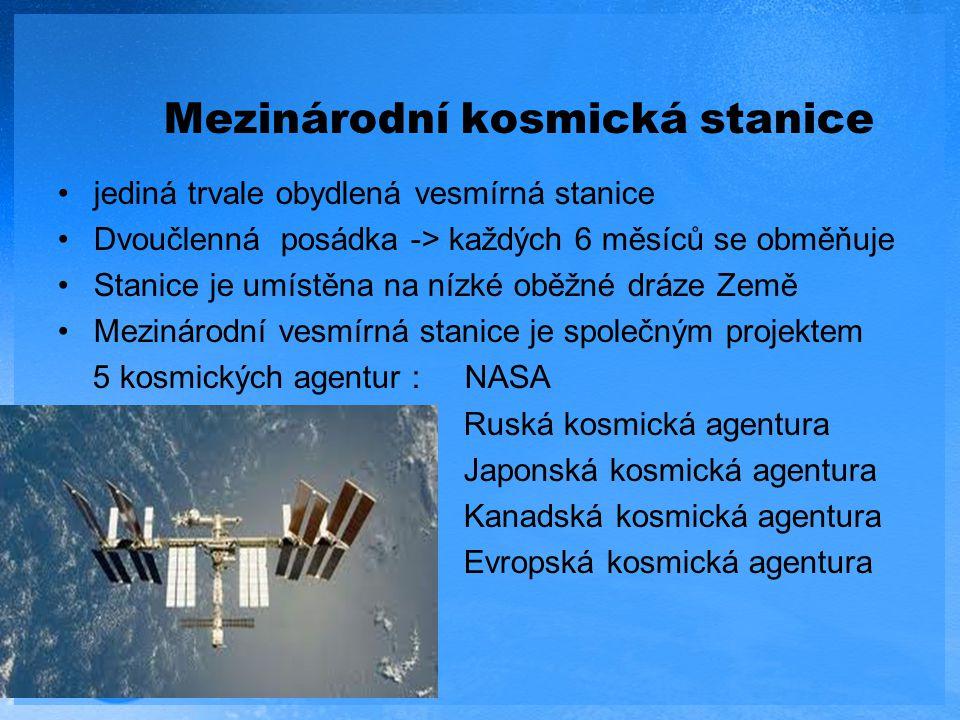 Mezinárodní kosmická stanice