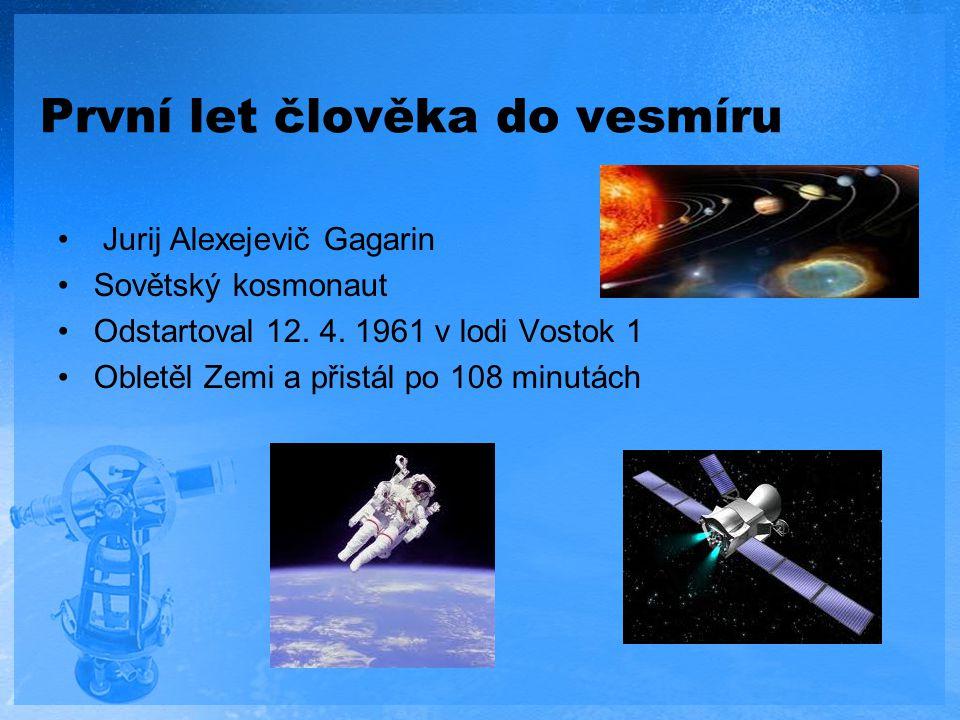 První let člověka do vesmíru