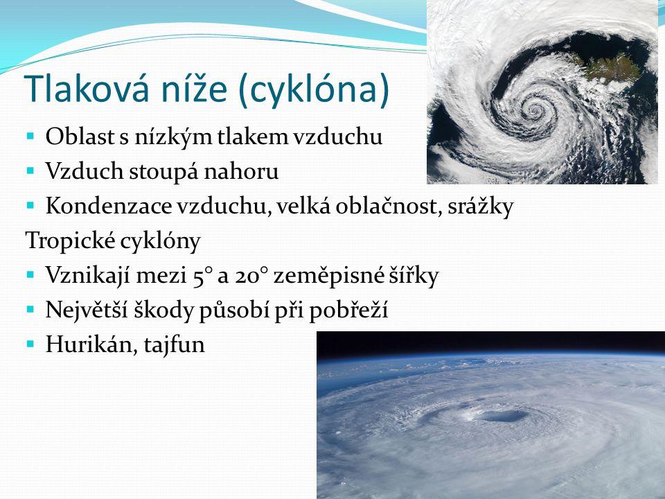 Tlaková níže (cyklóna)