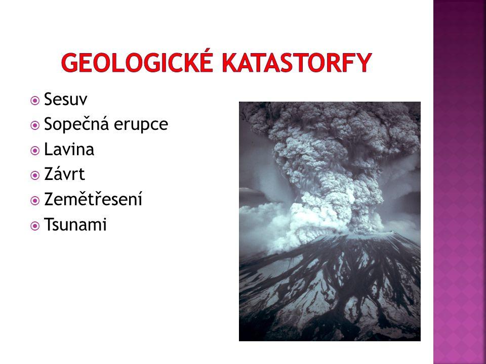 Geologické katastorfy