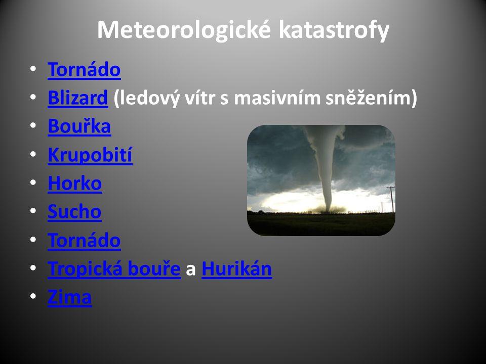 Meteorologické katastrofy