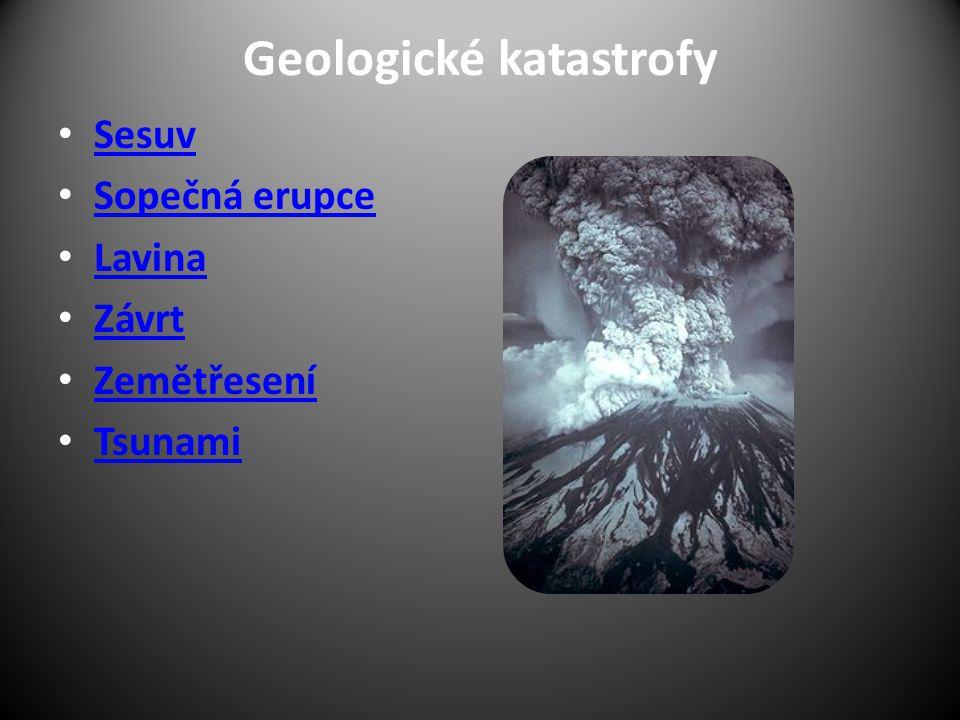 Geologické katastrofy