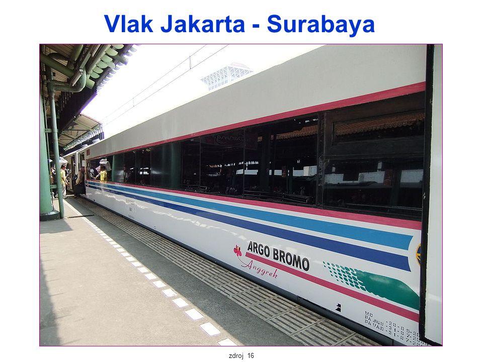 Vlak Jakarta - Surabaya