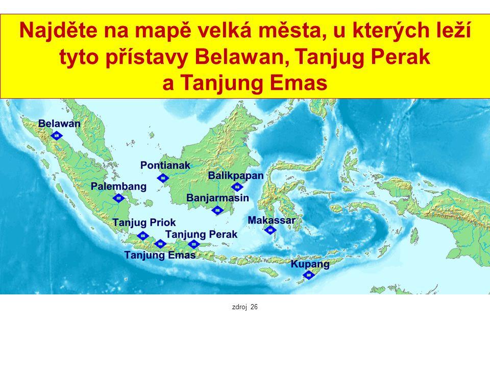 Významné indonéské přístavy