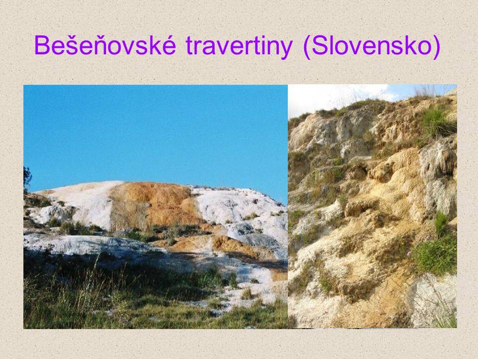 Bešeňovské travertiny (Slovensko)